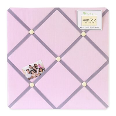 Sweet Jojo Designs Butterfly Pink and Purple Collection Memo Board