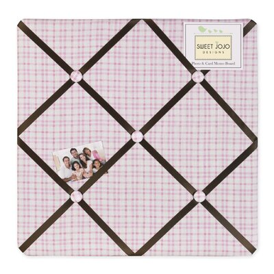 Sweet Jojo Designs Teddy Bear Pink Collection Memo Board