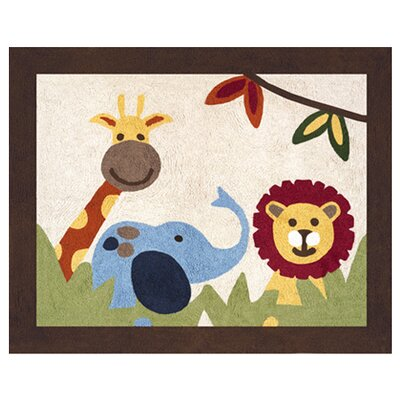 <strong>Sweet Jojo Designs</strong> Jungle Time Collection Floor Rug
