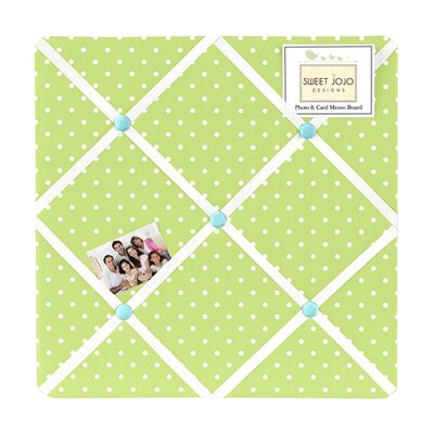 Hooty Turquoise and Lime Collection Memo Board