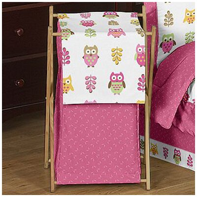 Sweet Jojo Designs Owl Pink Laundry Hamper