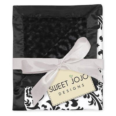 Isabella Black and White Collection Baby Blanket