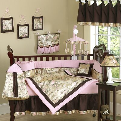 Abby Rose 9 Piece Crib Bedding Set