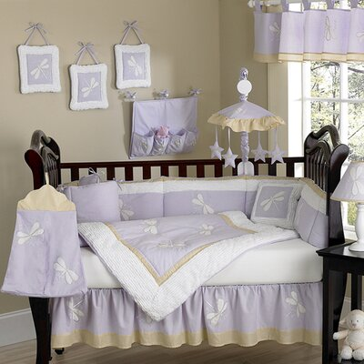 Sweet Jojo Designs Dragonfly Dreams Crib Bedding Collection