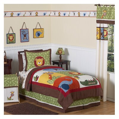 Jungle Time Collection Twin Bedding Set