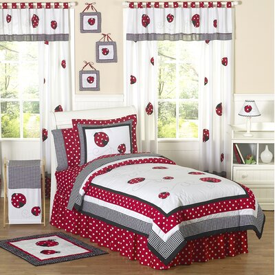 Sweet Jojo Designs Little Ladybug Kid Bedding Collection