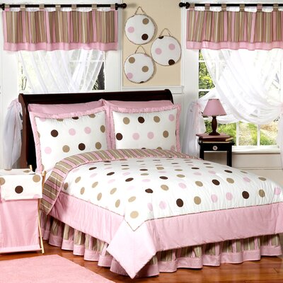 Mod Dots Pink Kid Bedding Collection