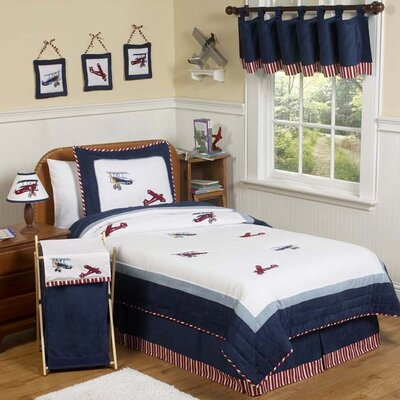 Sweet Jojo Designs Vintage Aviator Kid Bedding Collection