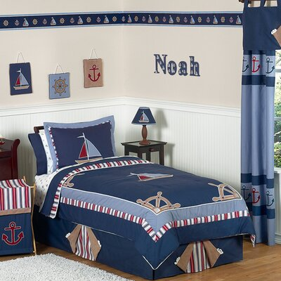 Nautical Nights Kid Bedding Collection