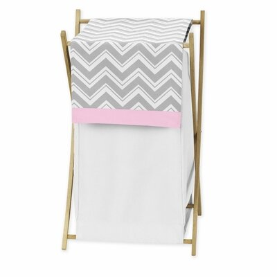Sweet Jojo Designs Zig Zag Laundry Hamper