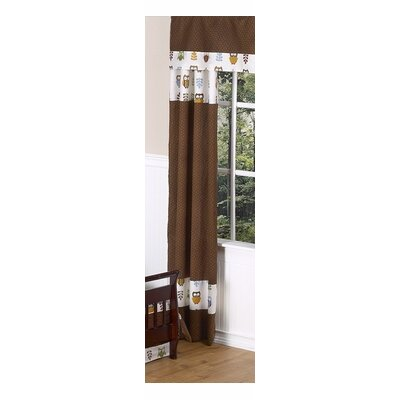 Sweet Jojo Designs Night Owl Rod Pocket Curtain Panel