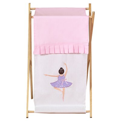 Sweet Jojo Designs Ballerina Laundry Hamper