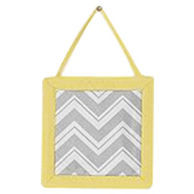 Sweet Jojo Designs Zig Zag Yellow and Gray Collection Wall Hangings