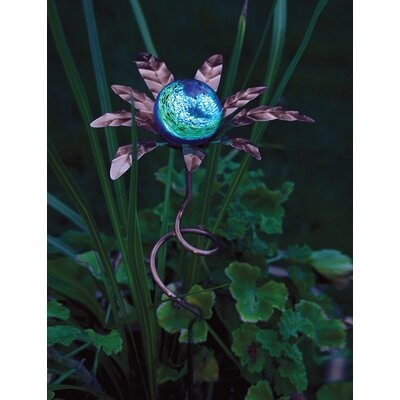 Palm Illuminaries Glow in The Dark Stake with Globe