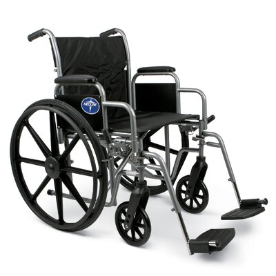 Medline Excel K1 Bariatric Wheelchair