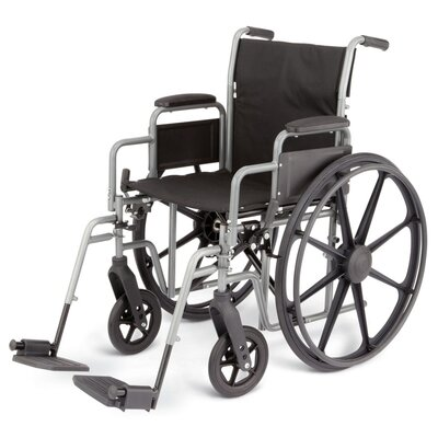 Medline K3 Basic Standard Bariatric Wheelchair