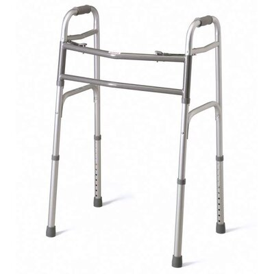 Adult Two-Button Folding Walker,
