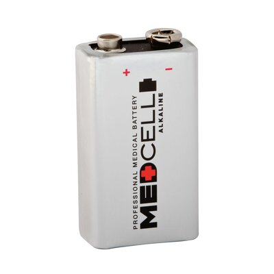 Medcell 9V Alkaline Battery (Case of 72)