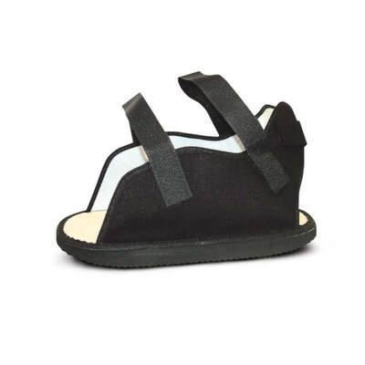 Medline Canvas Cast Boot Rocker Style with Velcro