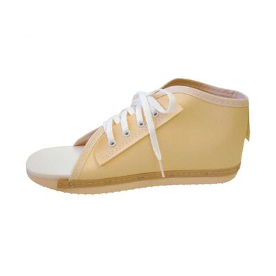 Medline Medium Vinyl Lace Up Post Op Shoe