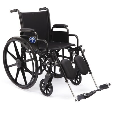 Medline Excel K3 Standard Bariatric Wheelchair
