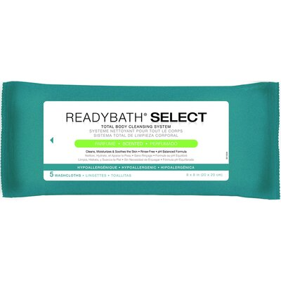 ReadyBath Body Cleansing Washcloths (Pack of 30)