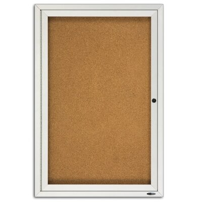 Quartet® Enclosed 3' x 2' Bulletin Board