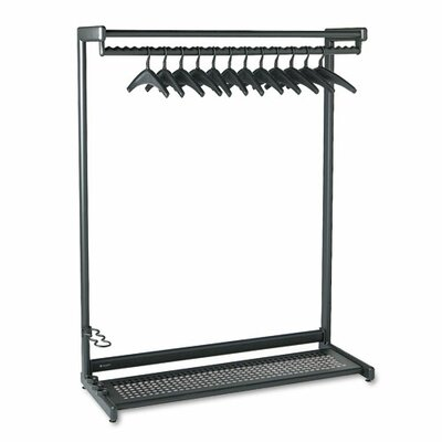Quartet® Single-Sided Rack with Two Shelves