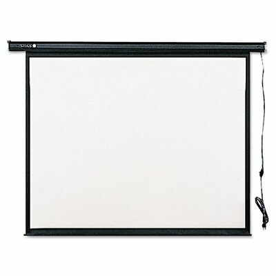 Quartet® Electric Wall or Ceiling Mount Projection Screen