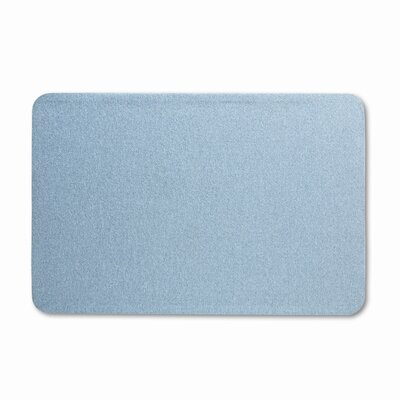 Quartet® Oval Office Fabric Bulletin Board, 48 X 36