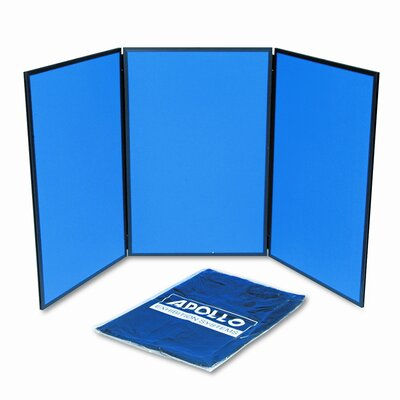 Quartet® ShowIt Three-Panel Display System 3 x 6