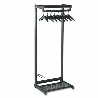 Quartet® Two-Shelf Coat Rack