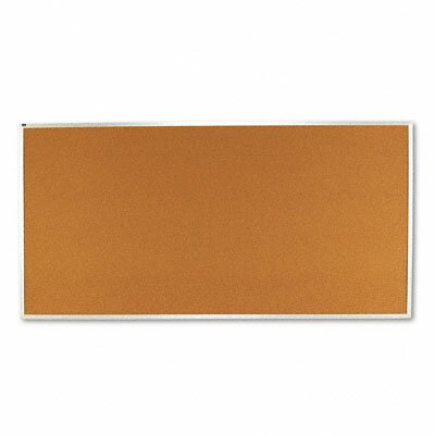 Quartet® Cork Bulletin Board with Aluminum Frame