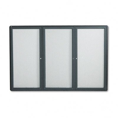 Quartet® Radius Frame Fabric Bulletin Boards- Medium to Large