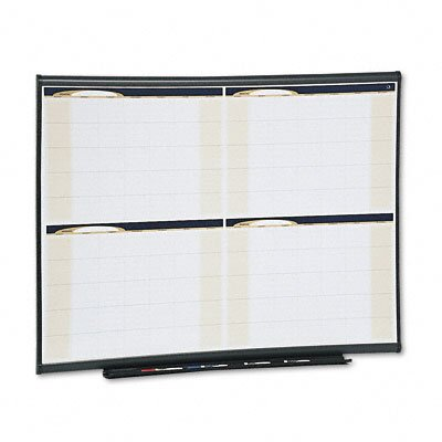 Quartet® Prestige Total Erase Monthly Calendar with Gray Frame