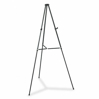 "Quartet® Lightweight Telescoping Tripod Easel, Adjusts 38"" To 66"" High"