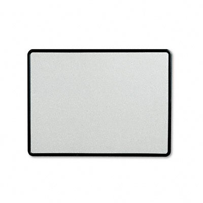 Quartet® Contour Granite-Finish Tack Board with Black Frame