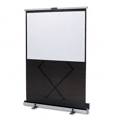Quartet® Euro Portable Cinema Screen with Black Carrying Case
