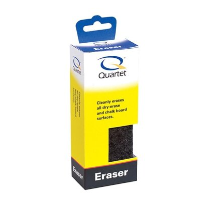 Quartet® Foam Eraser, For Dry-Erase/Chalkboards
