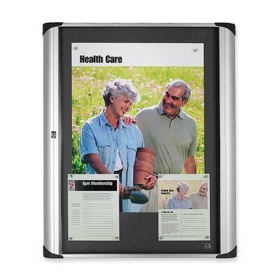 Quartet® Magnetic 3' x 2' Bulletin Board