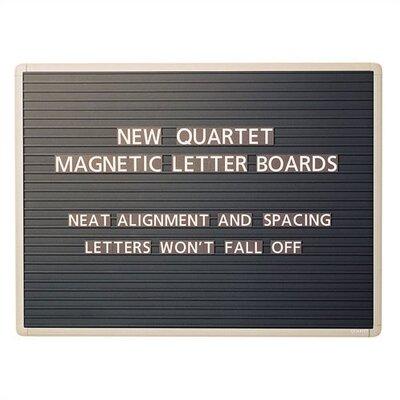 Quartet® Magnetic Letter Message Boards