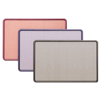 Quartet® Fabric Contour Bulletin Boards- Small