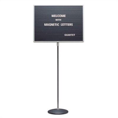 Quartet® Adjustable Standing Magnetic Letterboards