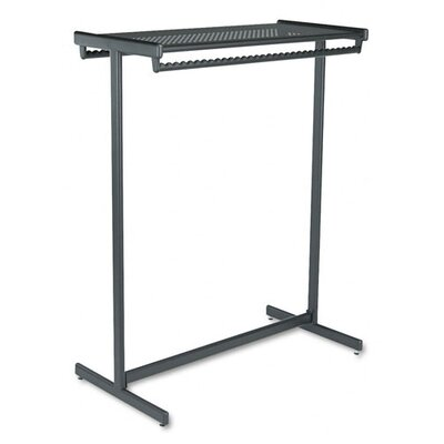 Quartet® Double-Sided Garment Rack in Black Powder Coat