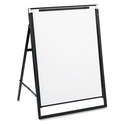 Quartet® Futura Dry-Erase Presentation Easel in White with Black Frame