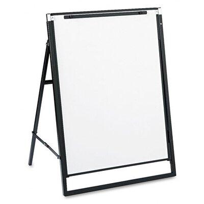 Quartet® Futura Dry-Erase Presentation Easel in White with Black Frame