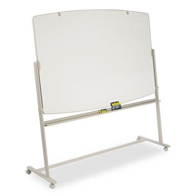 Quartet® Reversible Mobile Presentation Easel in White and Neutral