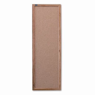 Quartet® Slim Line 3' x 1' Bulletin Board