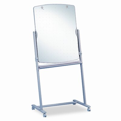Quartet® Reversible Mobile Presentation Easel, Dry-Erase, 30 x 41, Neutral Frame