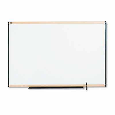 Quartet® Total Erase Maple Frame Marker Board 4 x 6